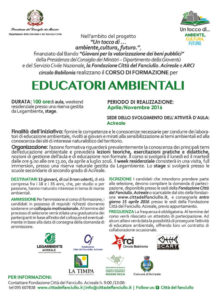 volantino 2 corso educatori ambientali